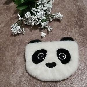 Kutie Pops by Jellycat Panda fuzzy wallet